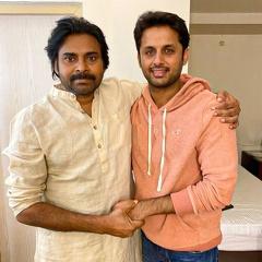 Bheesma Team Meets Pawan Kalyan