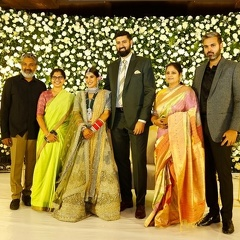 Celebs at Jayasudha Kapoor's elder son Wedding Reception
