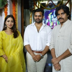 Pawan Kalyan at Sai Tej- Devakatta Movie Opening