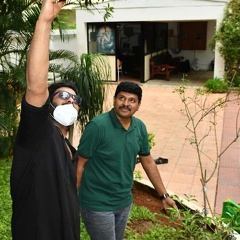 Photos: Prabhas Accepts The Green India Challenge & Planted Saplings