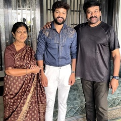 Bigg Boss 4 fame Sohel meets Chiru and his family