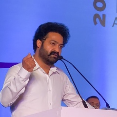 Young Tiger NTR at Cyberabad Traffic Police Annual Conference.